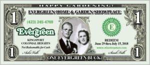 evergreen rewards garden club