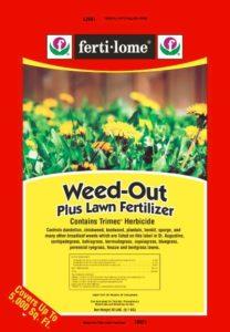 weed-out lawn fertilizer lawncare program