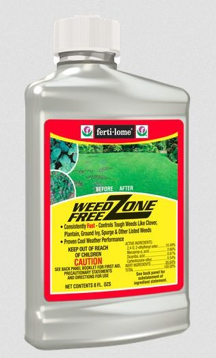 fertilome weed free zone weed killer evergreen garden center